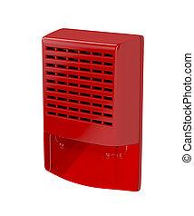 Fire alarm siren
