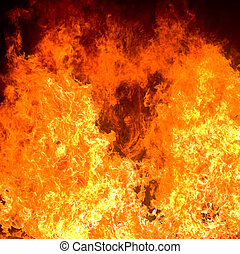 fire background  - highly detailed abstract fire background