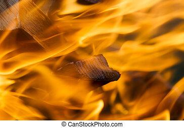 Fire. Blaze fire flame texture background. Explosion fire, fire background.