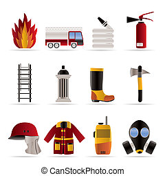 fire-brigade and fireman equipment
