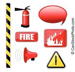 Fire-Brigade Vector Equipments icon - Fire-Brigade...