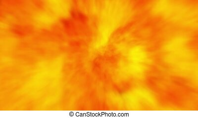 fire flame burning abstract background motion 4k