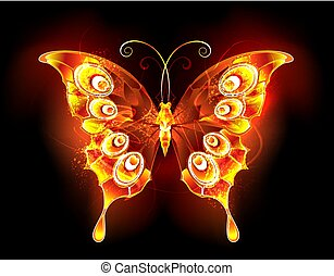 Fire butterfly peacock