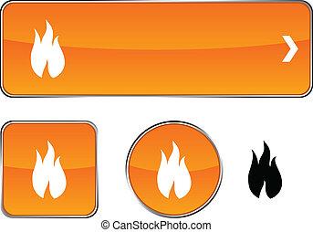 Fire button set.