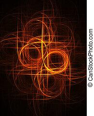 fire circle rays