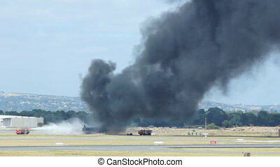 Fire control in airport