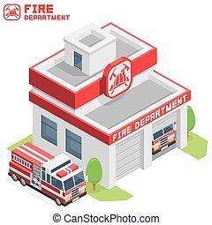 Fire Department building