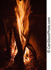 Fire Detail - Fire detail texture image.