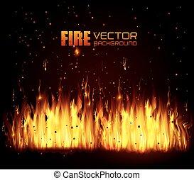Fire digital design.