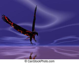 Fire Eagle Surreal