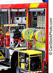 Fire engine detail