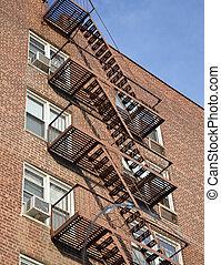 Fire escape, NYC