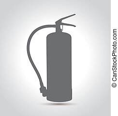 Fire extinguishe solo 01 - Isolated Fire extinguisher...