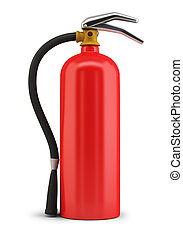 fire extinguisher - Fire extinguisher. 3d image. Isolated...