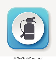 Fire extinguisher icon