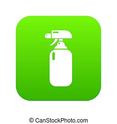 Fire extinguisher icon green