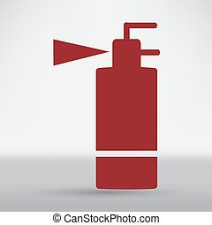 Fire extinguisher line icon