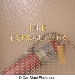 Fire Extinguisher of Utah State Capital Building