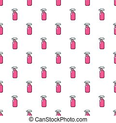 Fire extinguisher pattern seamless - Fire extinguisher...