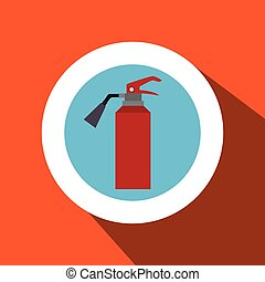fire extinguisher protection icon