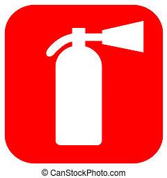 Fire extinguisher icon