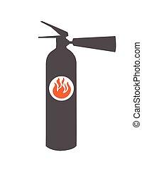 Fire extinguisher vector illustration design