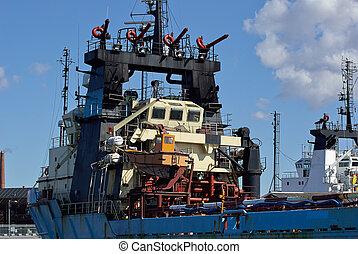 Fire Fighting Rescue Boat