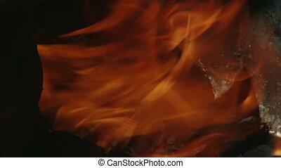 Fire, flame, close