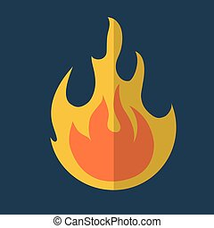 fire flame icon image