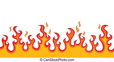 Fire Flames (fire, speed, passion, heat, spicy symbol)