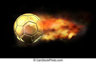 Cartoon Fireball And Comet Flying Stock Vector ... |Shooting Flames Drawings