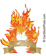 fire - flames
