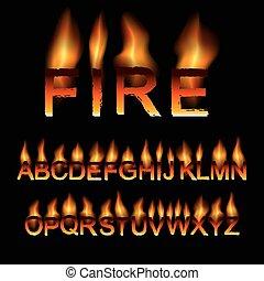 fire font