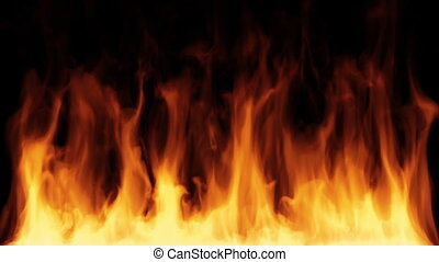 Fire - High quality computer generated fire background.