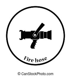 Fire hose icon
