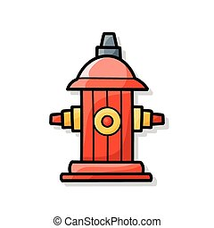 Fire hydrant doodle