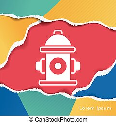 Fire hydrant icon