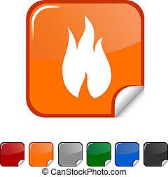 Fire icon.