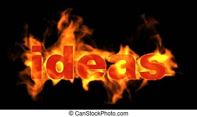 fire ideas word.