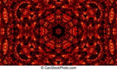 fire kaleidoscope backgrounds