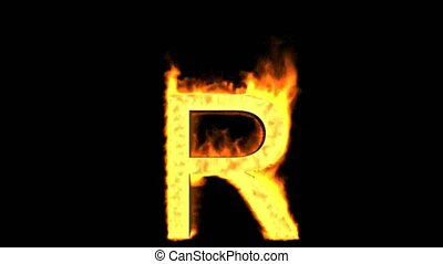 fire letter R.