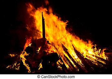 Fire logs 4