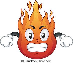 Fire Mascot