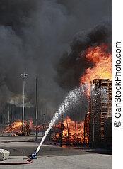 Fire Moerdijk