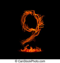 """Fire number """"9"""""""