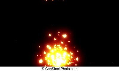 fire particle