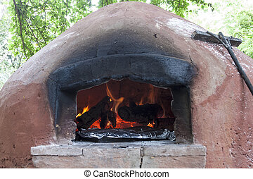 Fire Place In Africa