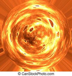 fire planet