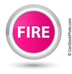 Fire prime pink round button