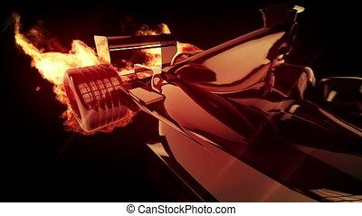 Fire race car 2cc